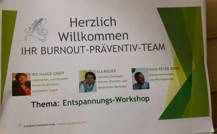 Stress- & Burnout-Prävention