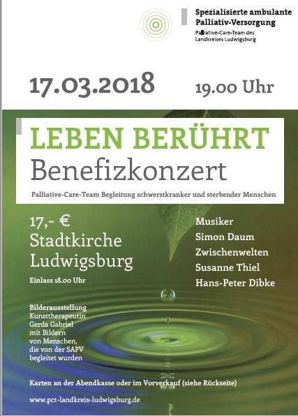 """17.03.2018 - Benefizkonzert """"Leben berührt"""" 2"""