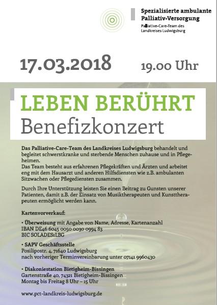 """17.03.2018 - Benefizkonzert """"Leben berührt"""" 3"""
