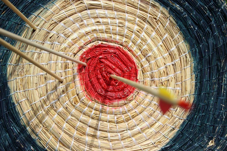 Meditatives Bogen schießen 3
