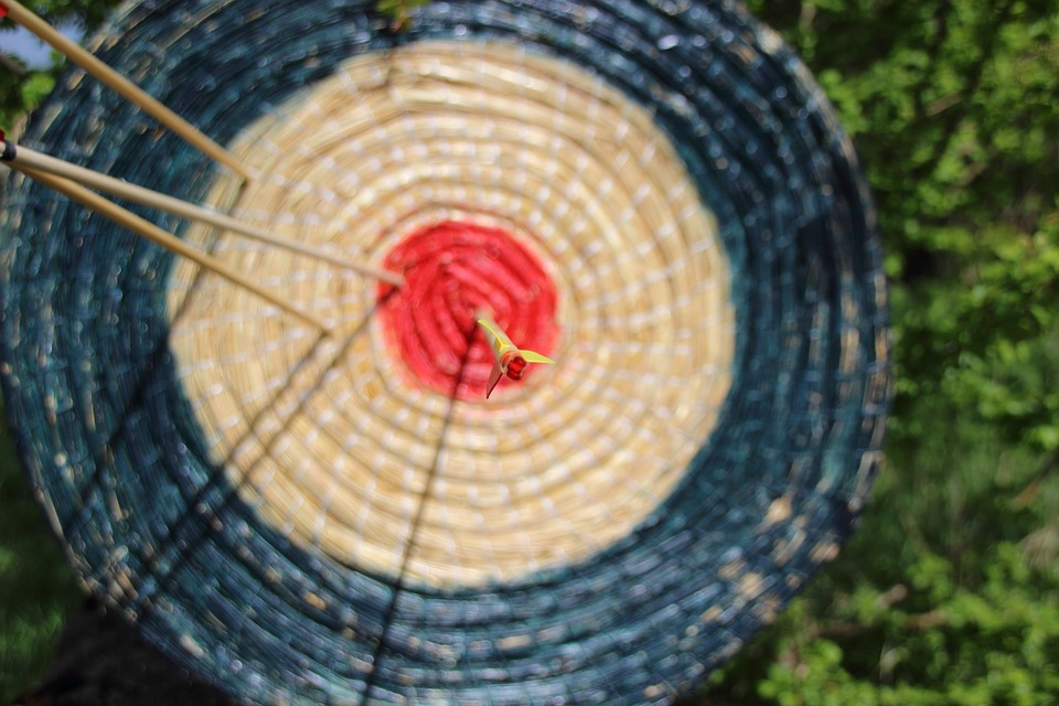 Meditatives Bogen schießen 1